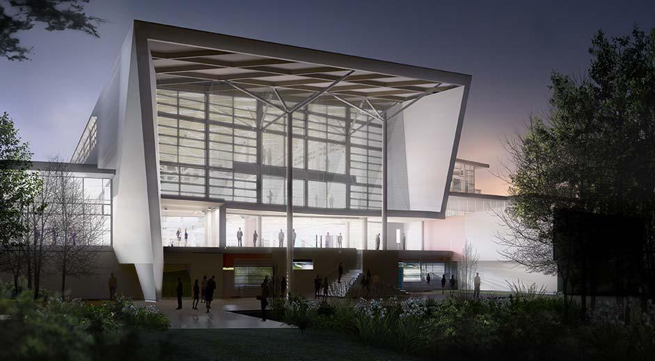 Structus Consulting Auckland case study Unitec hub exterior