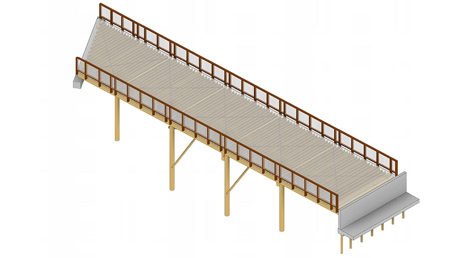 Structus Consulting - case study Royal Road Develeopment Pedestrian Footbridge