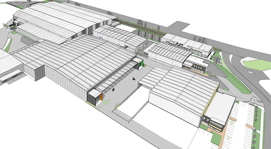 Structus Consulting - O'Rorke Road case study aerial view